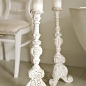 page.0q414s0p8q9h585g aged white candle holders