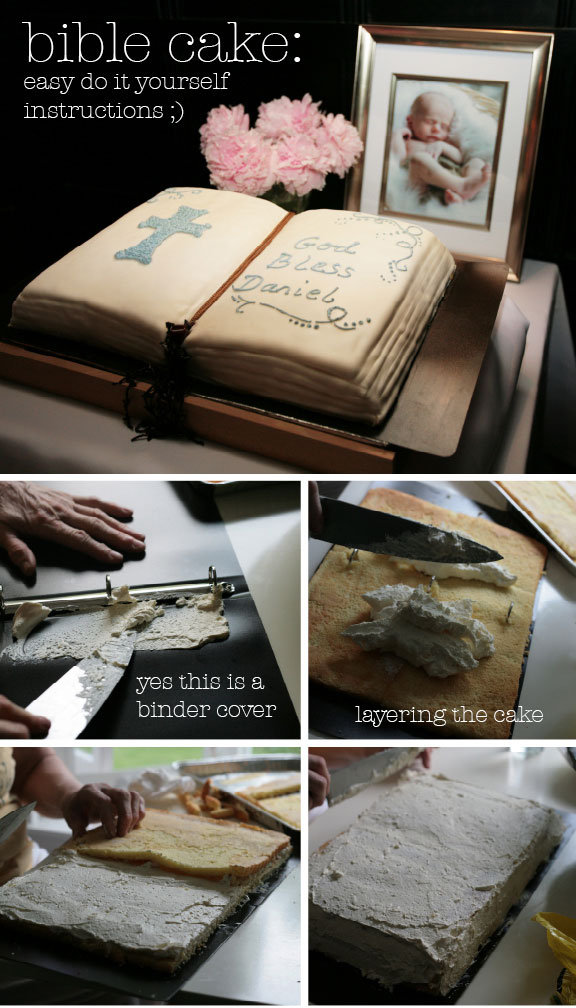 Bible Cake Diy Easy Instructions