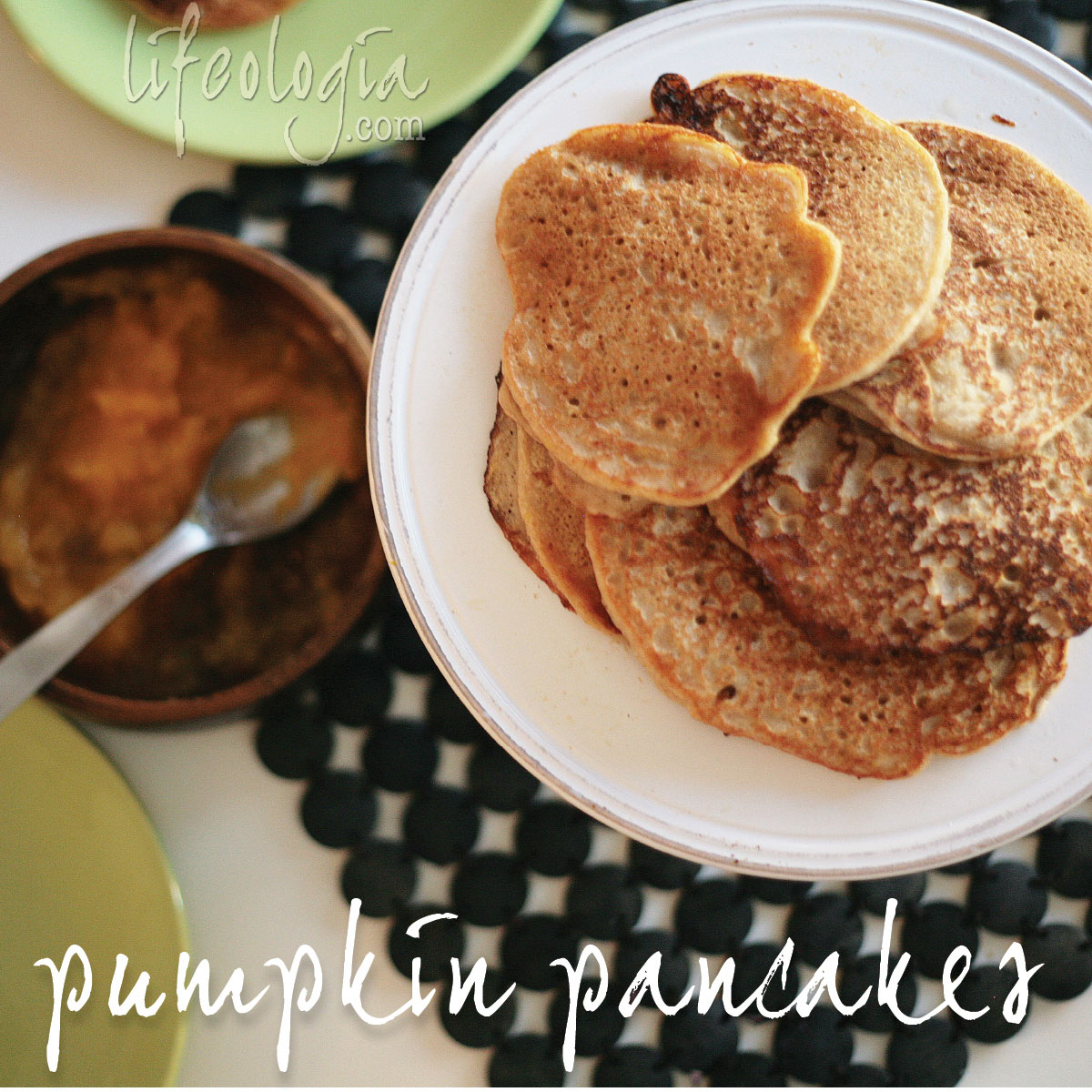 pumpkin-pancakes easy gluten free vegan recipe