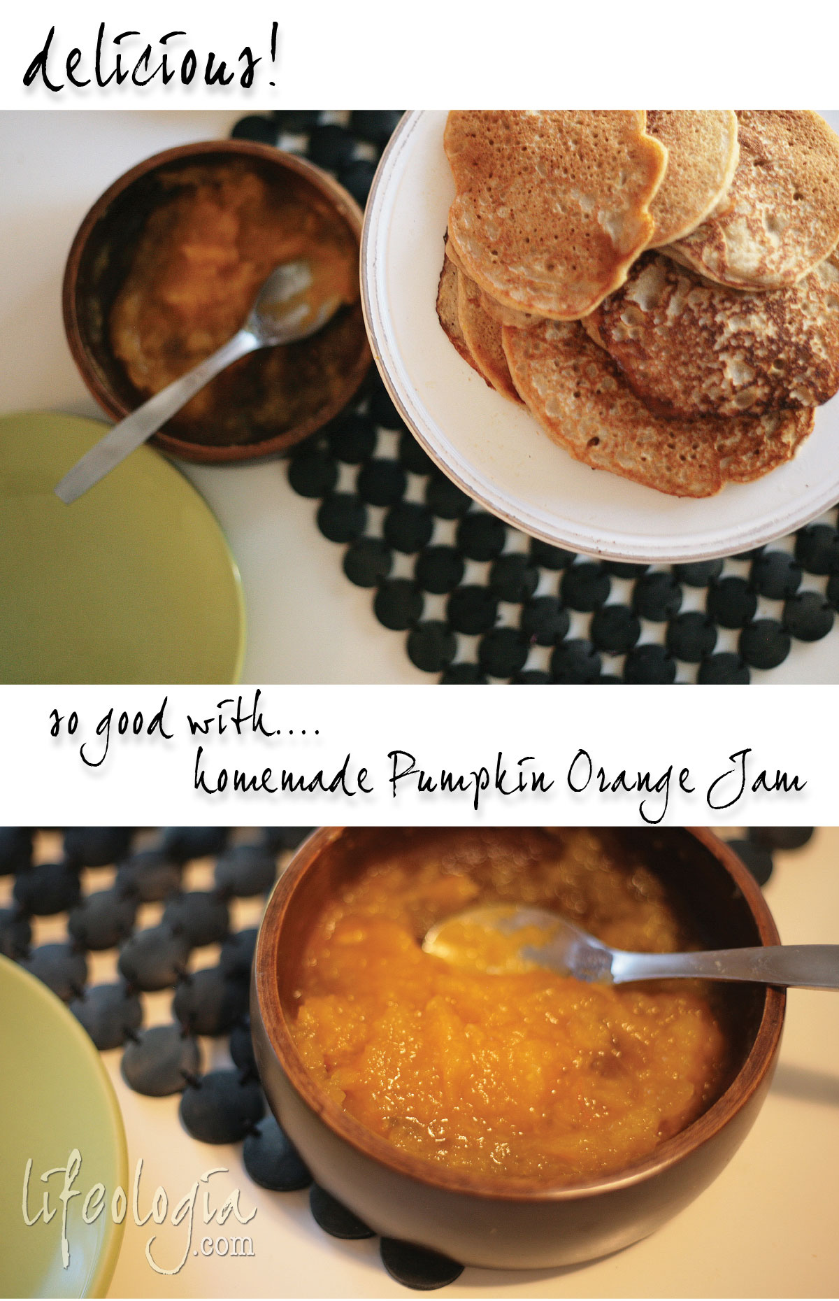 pumpkin-pancakes3 easy vegan gluten free recipe