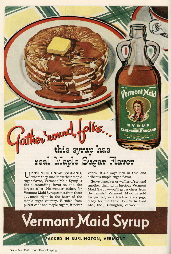 vintage food ads   the early years of crap food